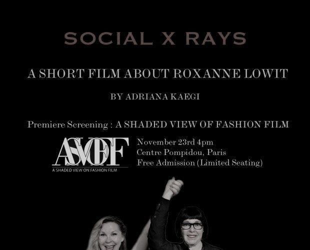 Social X Rays: Roxanne Lowit